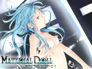 MATERIAL DOLL IN TO THE DEEP